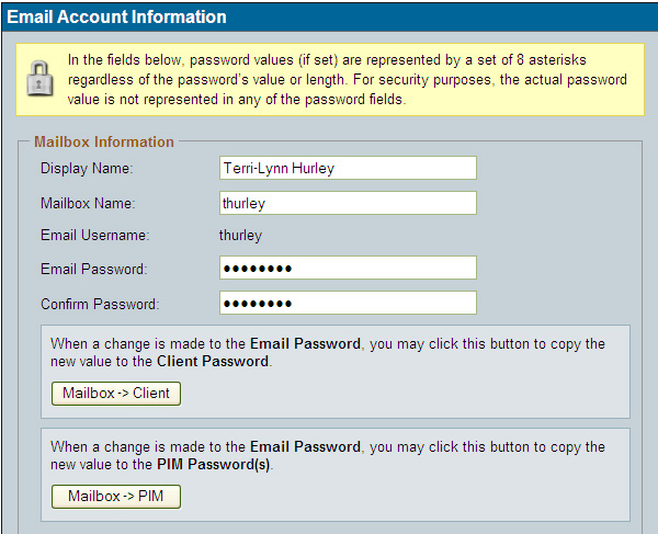Email Password submited images.