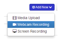 add webcam