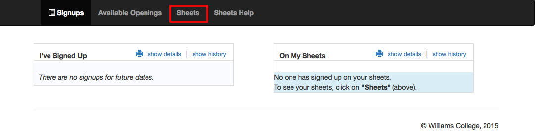 How do I create a new signup sheet – How to Create a Sign Up Sheet