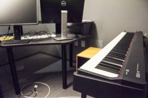 music composition room