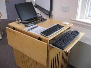 classroom-lectern