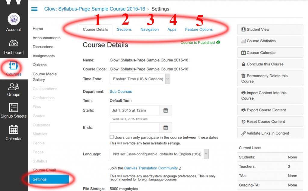course-settings