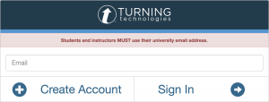 Sign in for TurningPoint