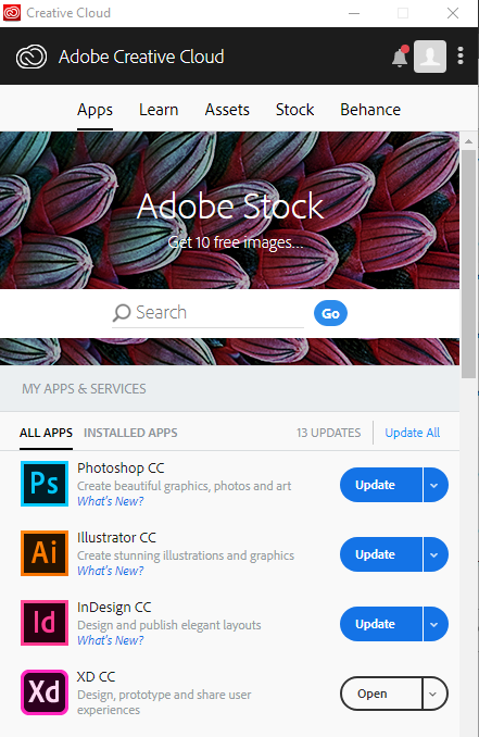 Adobe Creative Cloud Suite | Office for Information Technology