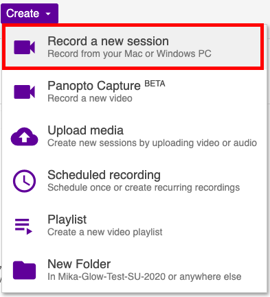where to download panopto recorder from